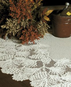 Woodland Lace Round Table Topper