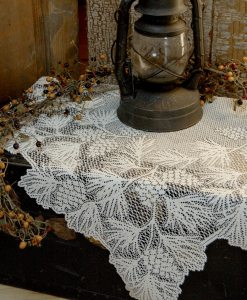 Woodland Lace Table Topper