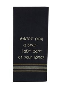 72-056_Advice from a bear dishtowel2