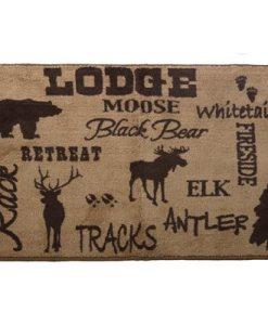 Lodge Throw Kitchen/Bath Rug