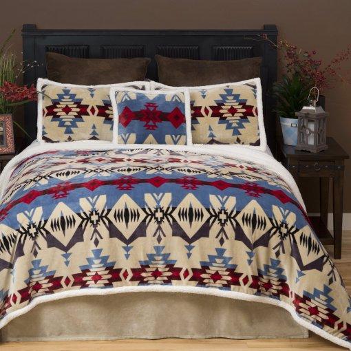 Blue River Bed Set