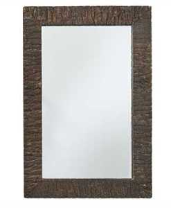 Bark Edge Mirror