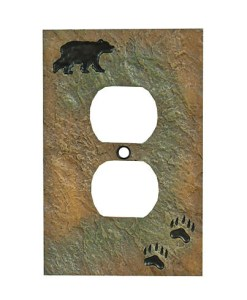 Bear Outlet Cover