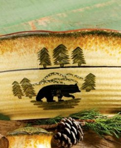 Bear Serving Bowl