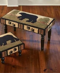 Adirondack Bear Bench