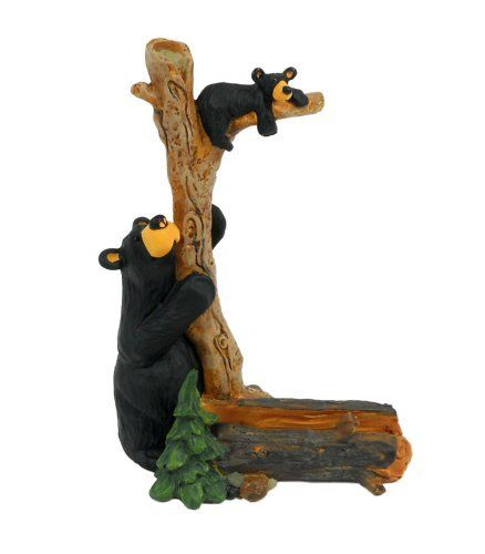 Big Sky Carvers Bizzy and Cubby Business Card Holder