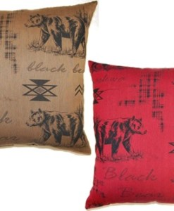 Black Bear Pillows
