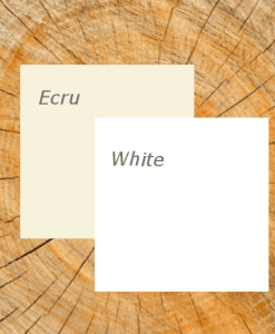 Ecru_White with Wood background_Description