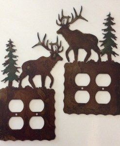 Elk Double Outlet Switch Plate Cover