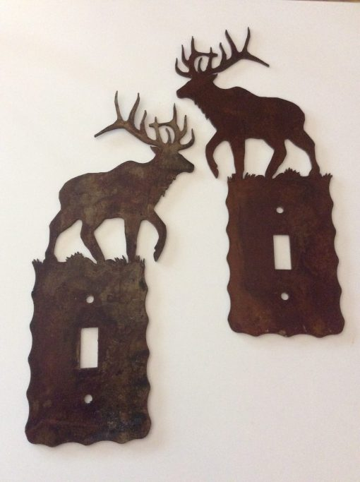 Elk Single Toggle Switch Plate Cover
