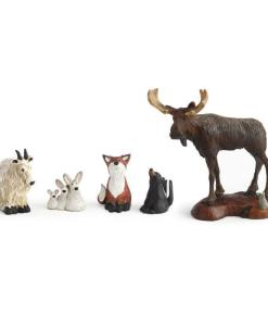 Forest Frieds Nativity – 5 pc