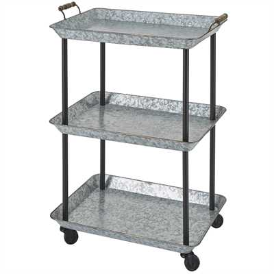 Galvanized Utility Cart