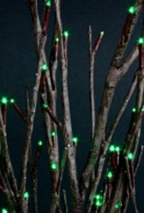 Willow Branch Green LED