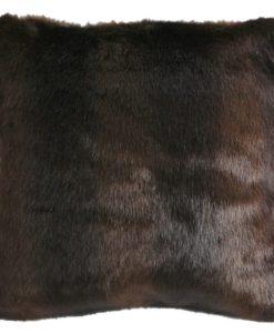 Brown Bear Fur Pillow