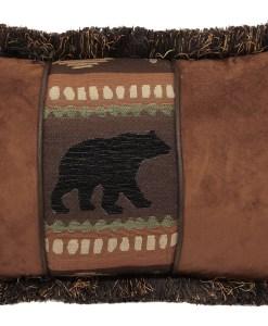 Bear Chestnut Oblong Pillow