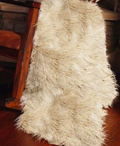 Faux Sheepskin Throw