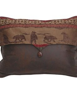 Cascade Lodge Bear Envelope Pillow