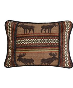Bayfield Oblong Moose Pillow