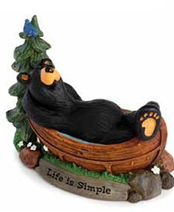 "Big Sky Carvers ""Life is Simple"" Figurine"