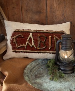 Lodge Hollow Cabin Pillow
