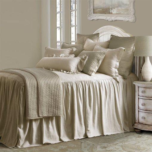 Luna Tan Bed Set