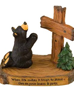 "Big Sky Carvers ""Praying Bear"" Figurine"