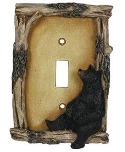 RIV- Bear Single Switchplate