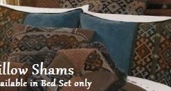 Rio Grande & Del Rio Pillow Shams1