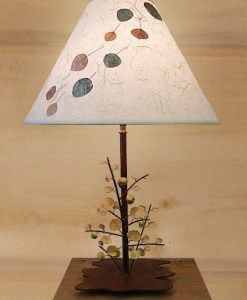 Aspen Leaves Table Lamp