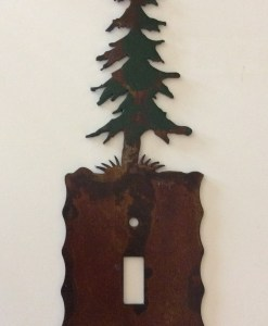 Pine Tree Single Toggle Switch Plate Cover