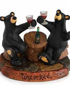 "Big Sky Carvers ""Uncorked"" Figurine"