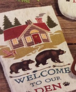 Welcome to our Den Bear Terry Towel
