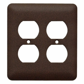 Plain Double Outlet (4) Combo Plate