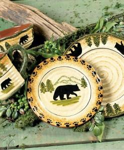 Bear dinnerware Set 16pcs