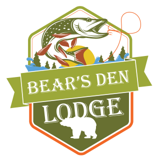 fishing french river, Bear's Den Lodge new 2016 logo