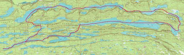 John lake bwca macfarland lake pine lake