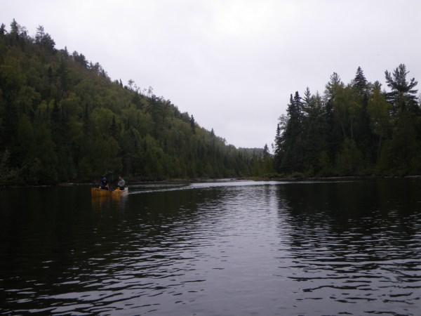 BWCA East Pike lake canoeing