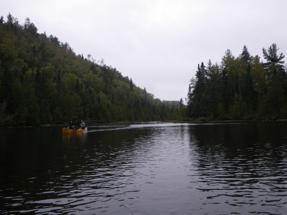 BWCA East Pike lake canoeing