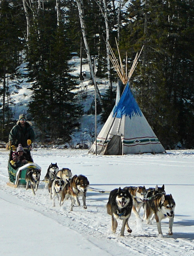 mushing with erik