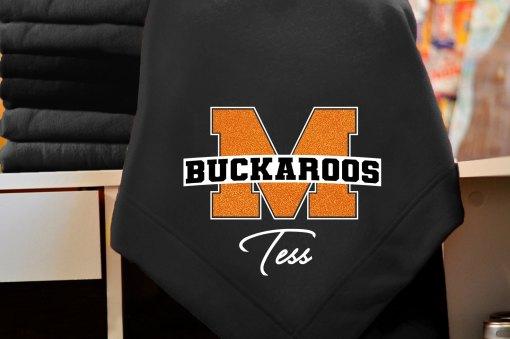 Monticello Buckaroo Blanket