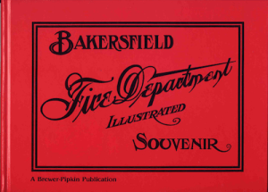 Bakersfield Fire Department Souvenir Edition-1906
