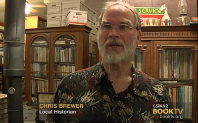 C-SPAN tour of Chris Brewer's Archive and Library
