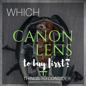 Which Canon Lens to Buy First