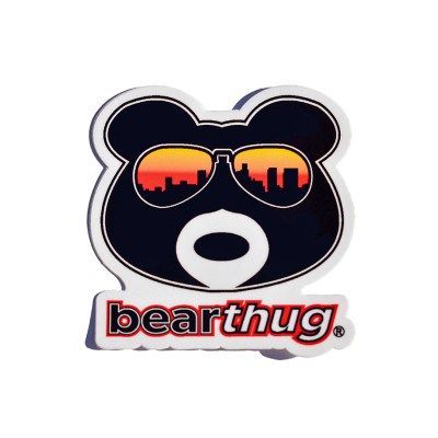 BearThug Die-Cut Sticker