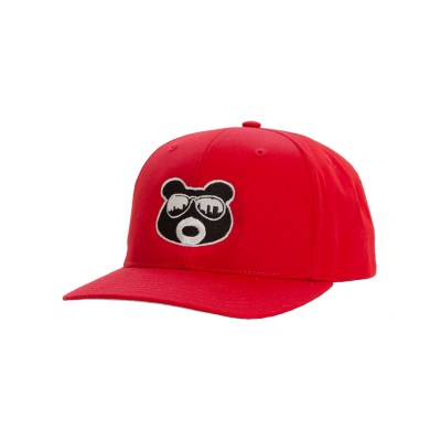 BearThug Ball Caps - Solid Red