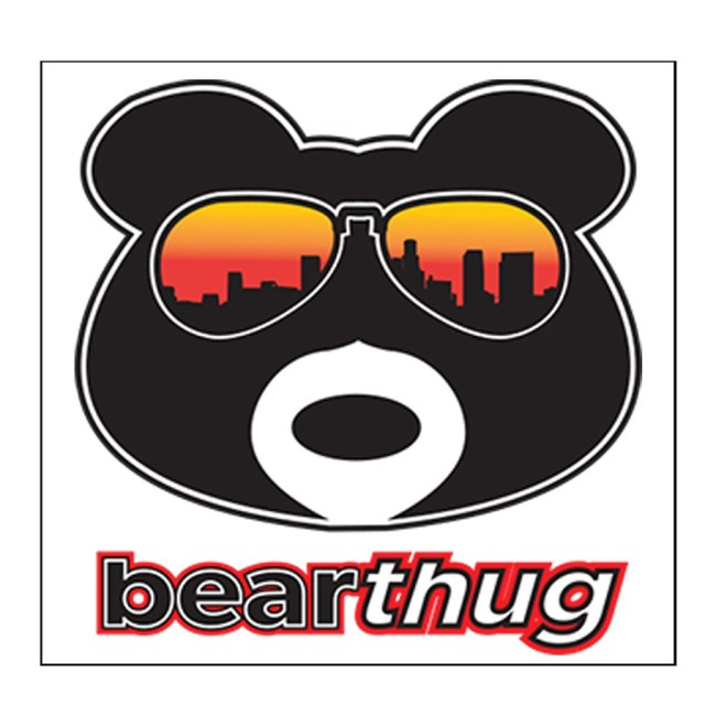 BearThug Stickers