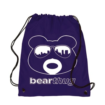 BearThug Drawstring Bag - Navy
