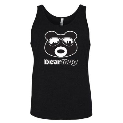 BearThug Black & White Logo Tank-top