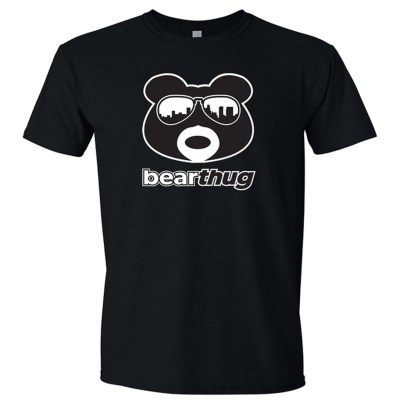 BearThug Black and White Logo T-shirt