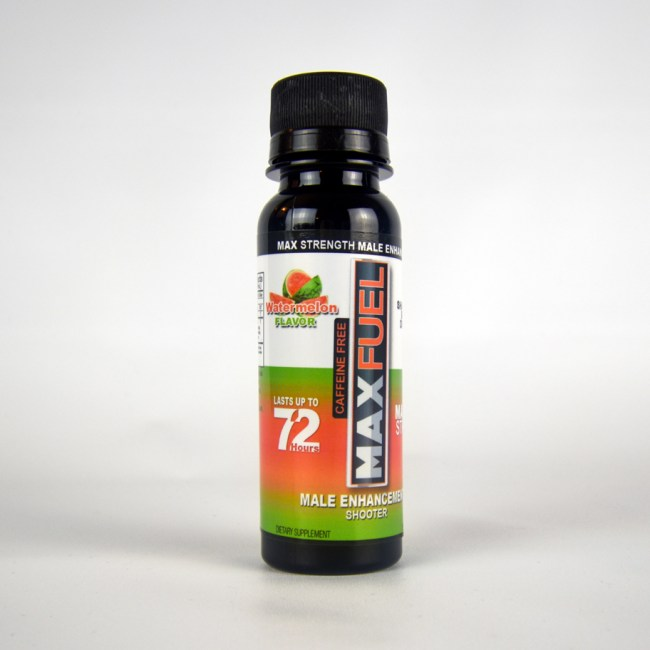 MaxFuel Watermelon Male Enhancement Shooter (Caffeine Free)